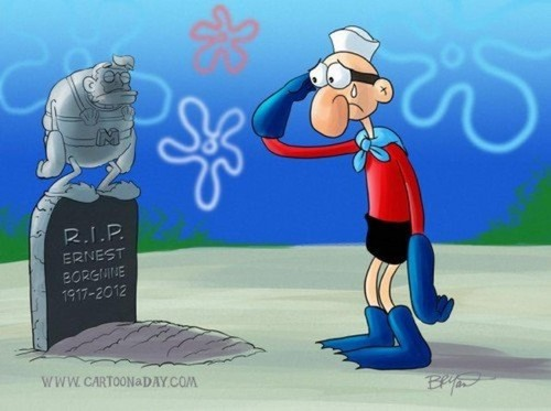 RIP Ernest Borgnine/Mermaid Man