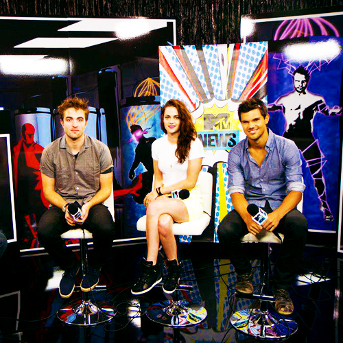 RKT - mtv news interview on Comic con 2012