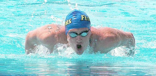 Ryan Lochte wallpaper containing a breaststroker titled RL