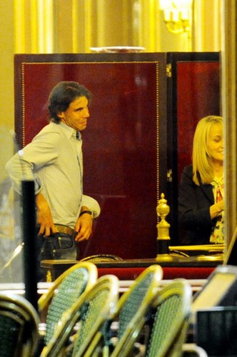 Rafa preferito is blonde woman !