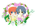 Ranma-chan and Akane (Orchid)