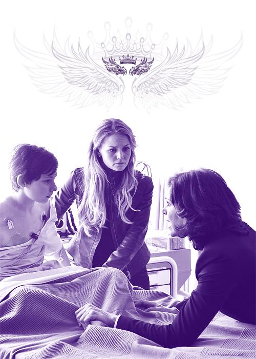 Regina, Emma and Henry