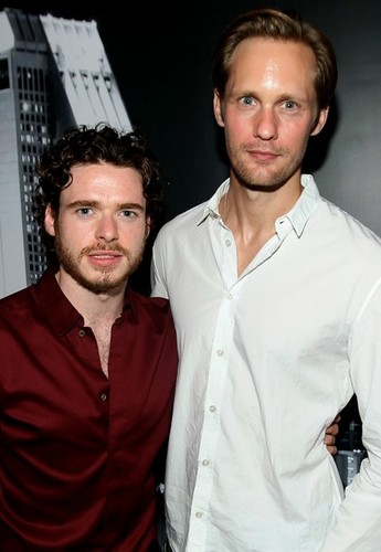 Richard Madden and Alexander Skarsgard