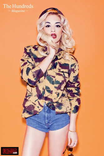 Rita Ora - Photoshoot 2012 - Kathryna Hancock for The Hundreds Magazine