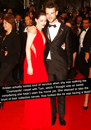 Robert Pattinson & Kristen Stewart 壁纸 with a business suit titled Rob & Kristen Confessions