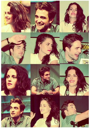 Robert And Kristen At Comic-con 2012