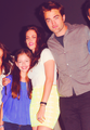 Robert, Kristen & Mackenzie at Comic-Con 2012 - twilight-series photo