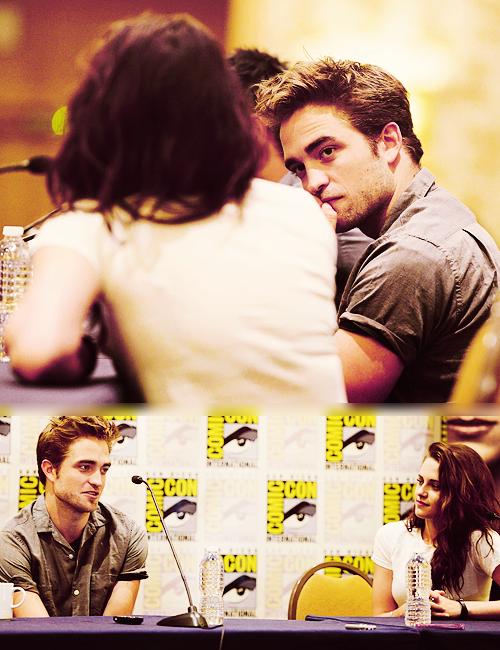 Robert & Kristen at Comic-Con 2012