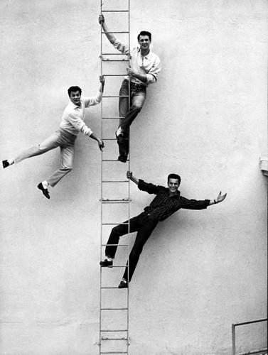 Rock Hudson, Tony Curtis & Robert Wagner