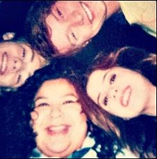 Ross Lynch, Laura Marano, Calum Worthy and Raini Rodriguez