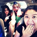 Ross Lynch, Laura Marano, Calum Worthy and Raini Rodriguez