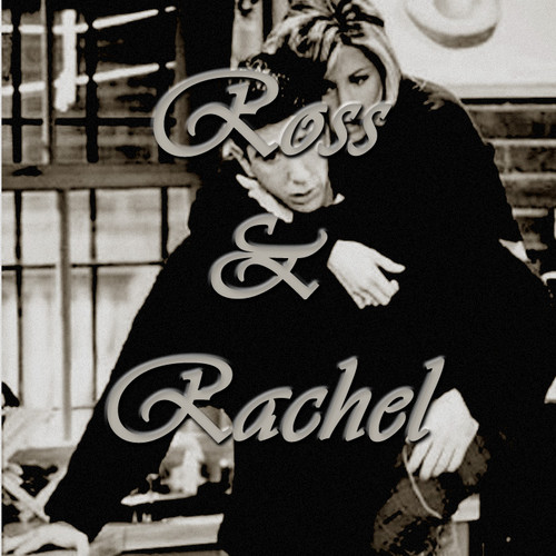 Ross and Rachel wallpaper probably containing a sign titled Ross and Rachel