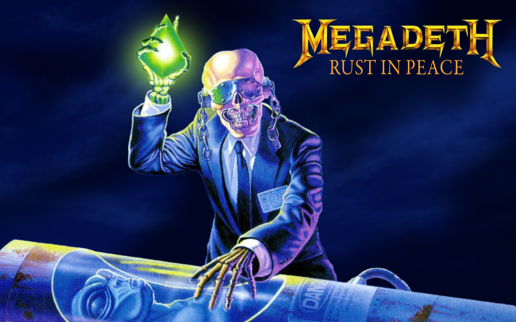 Rust In Peace Wallpaper Megadeth Wallpaper 31435554 Fanpop