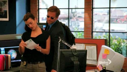 S9 screencaps of Tony and Ziva