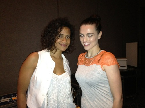SDCC 2012 天使 Coulby and Katie McGrath