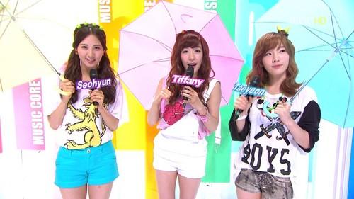SNSD. 120714 MC @ Show! Musik Core