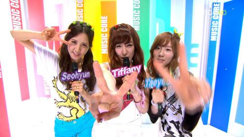 SNSD. 120714 MC @ Show! âm nhạc Core