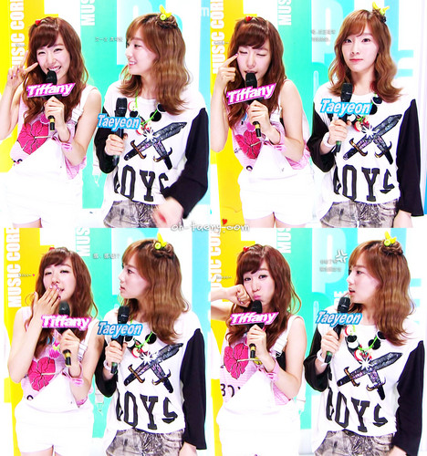 SNSD. 120714 MC @ Show! Music Core