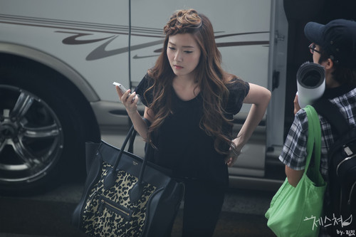 SNSD TaeYoonSic 120712 airport - girls-generation-snsd Photo