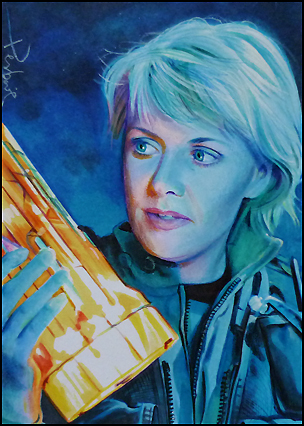 Samantha Carter wallpaper with anime titled Sam