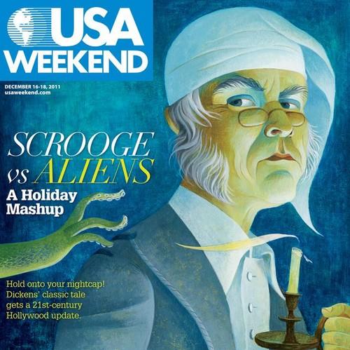 Scrooge vs. Aliens