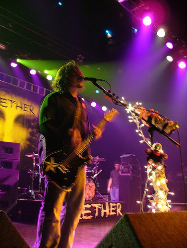Seether wallpaper containing a concert and a guitarist titled Seether