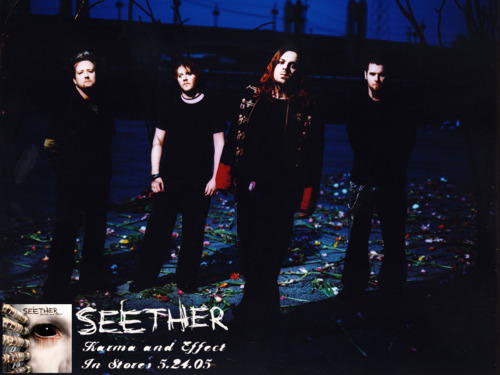 Seether wallpaper with a concert titled Seether