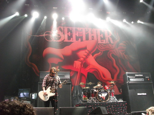 Seether wallpaper probably with a concert called Seether