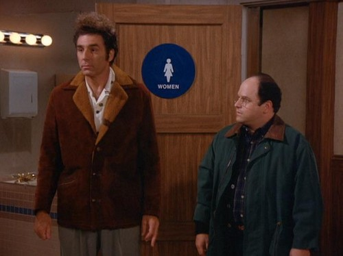 Seinfeld kertas dinding with a business suit called Seinfeld