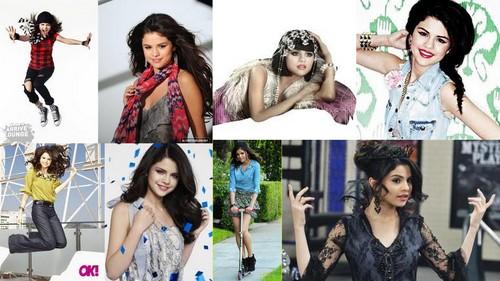 Selena Collage 1