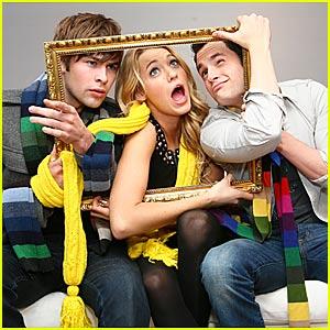 Serena, Dan and Nate