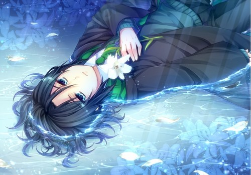 Harry Potter Anime wallpaper possibly with skin entitled Severus Snape