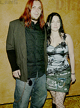 Seether wallpaper possibly with a hip boot called Shaun Morgan and Amy Lee <3
