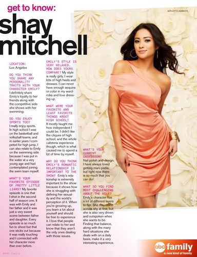 Shay Mitchell Magazine Cover