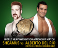 Sheamus and Alberto Del Rio - wwe photo