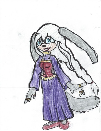 Silver,the DOg-Rabbit(before she became a demon)