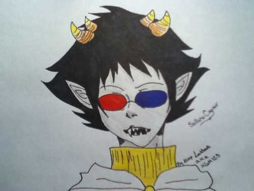 Homestuck پیپر وال probably containing عملی حکمت called Sollux Captor