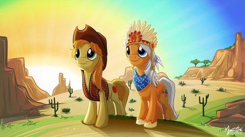 Some Awesome Ponies, of course. - my-little-pony-friendship-is-magic Fan Art