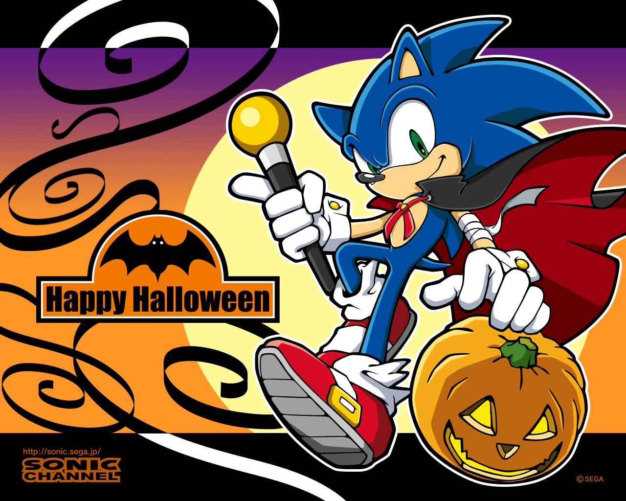 Sonic Channel Images Sonic Halloween Wallpaper Hd Wallpaper And