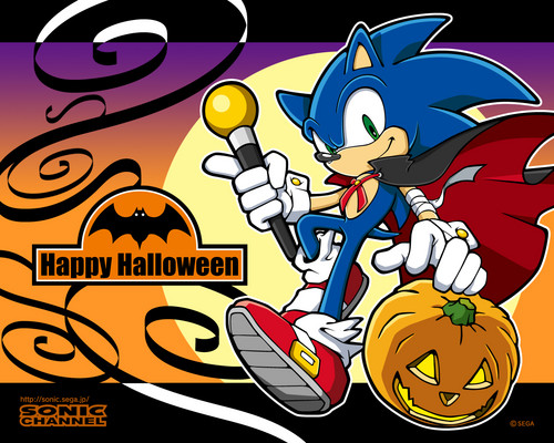 Sonic Halloween Wallpaper