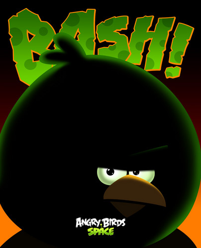 Angry Birds wallpaper called Space Bash
