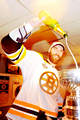 Stanley Cup 2011 - Locker Room Celebration - Zdeno Chara