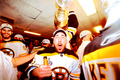 Stanley Cup 2011 - Locker Room Celebration - Brad Marchand