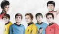 Star trek TOS crew - star-trek-the-original-series fan art