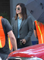 Stars On The Set Of 'The Heat' In Boston - sandra-bullock photo