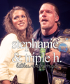 Stephanie & Triple H - triple-h fan art