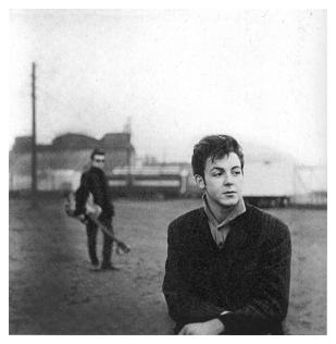 Stuart and Paul in Hamburg