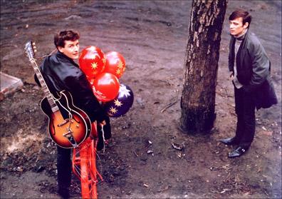 Stuart with Tony Sheridan