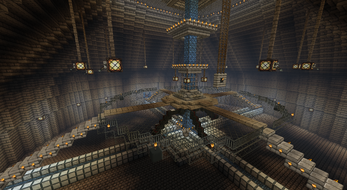 Minecraft TARDIS (under construction)