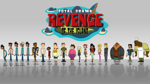 TDROTI cast wallpaper - total-drama-revenge-of-the-island-tdroti Photo
